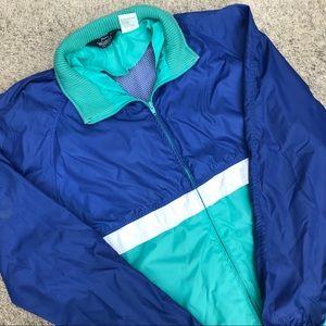 Vintage Woolrich Colorful Jacket w/ Hideaway hood